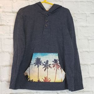 Old Navy Hooded Pullover Shirt Boys S (6-7)